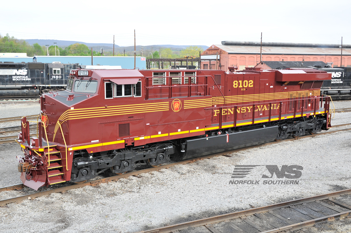 Norfolk Southern To Display Past Present And Future At National