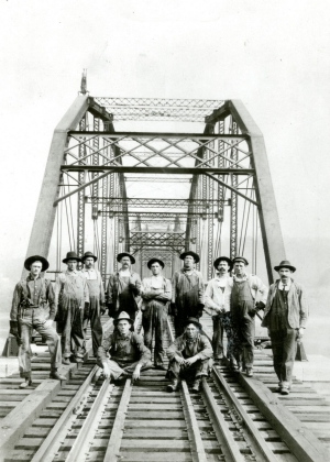 Railroad employees at Kenova