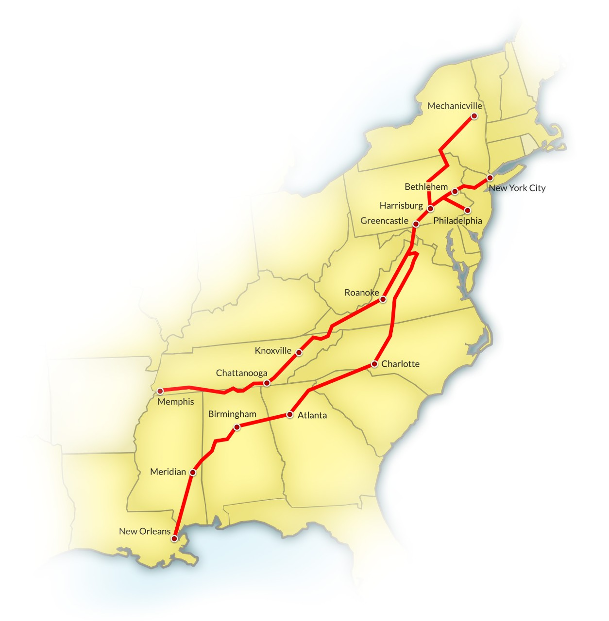 Crescent Corridor Corridors Shipping Options Norfolk Southern